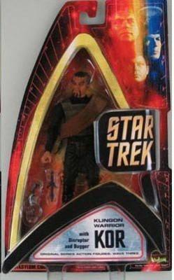 Art Asylum Star Trek Original Series Wave Three Klingon Warrior Kor