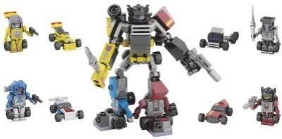 Transformers Kreo Micro Changers Menasor