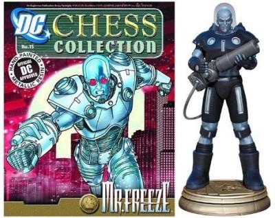 Eaglemoss Dc Chess & Collector Magazine 15 Mr Freeze Black Pawn