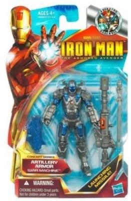Iron Man The Armored Avenger Artillery Armor War Machine 02
