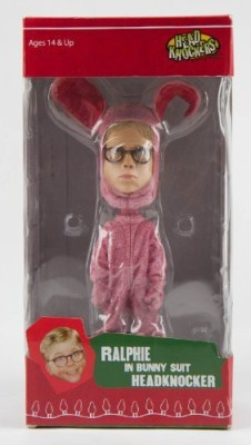 A Christmas Story Ralphie In Bunny Suit Bobblehead