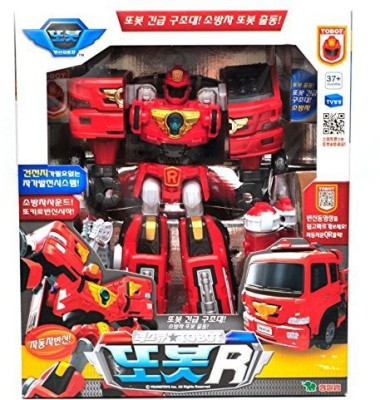 Young Tobot R Transformer Korean Animation Robot Character