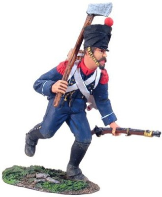 W. Britain French Light Infantry Voltigeur Charging With Axe