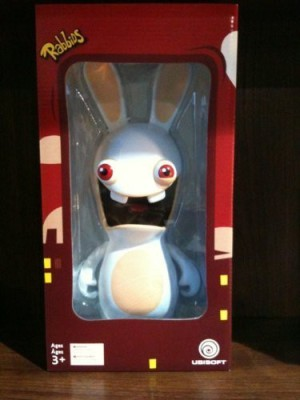 Ubisoft Rayman Raving Rabbids 12Inch Resin Screaming Rabbid