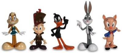 The Bridge Direct Looney Tunes 5 Pack Bugs Bunnylola Bunnydaffy Duckporky