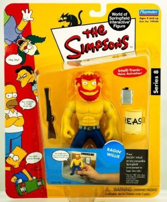 Playmates The Simpsons Simpsons World Of Springfield Interactive Series 8 Ragin,
