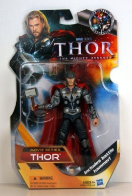Hasbro Thor The Mighty Avenger Movie Exclusive 6 Inch Thor