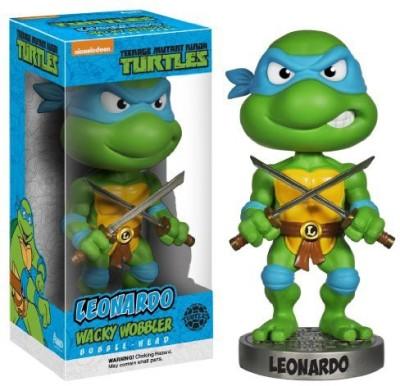Teenage Mutant Ninja Turtles Funko Leonardo Wacky Wobbler