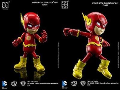 Herocross Hybrid Metal Figuration 017 Dc Comics The Flash Diecast