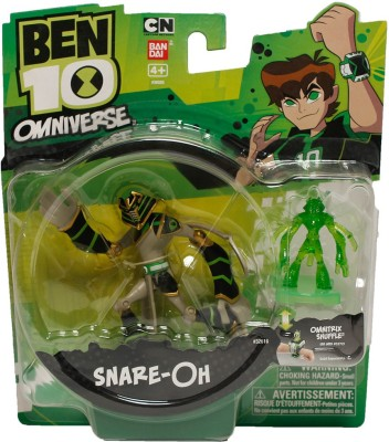 Ben 10 Snare - Oh With Hour Glass Figure-4inch