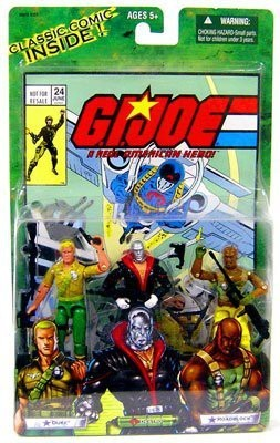 G I Joe Valor Vs Venom Dukedestro And Roadblock Multipack