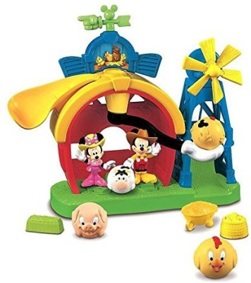 Mickey Mouse Mickey,S Farm Playset Clubhouse