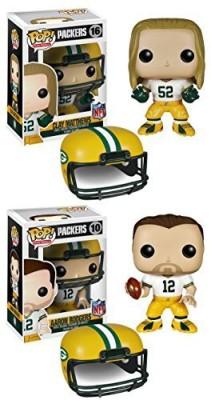 NFL Green Bay Packers Funko Pop Vinyl Rodgers & Matthews Set