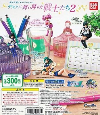 Bandai Sailor Moon Desktop Mini 2 Set Of 5