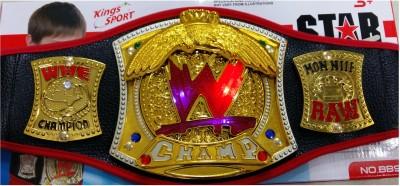 WWE Championship Gold Belt with Light