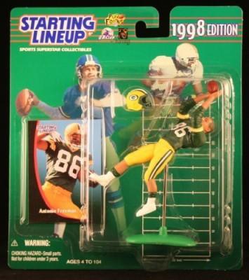 Starting Line Up Antonio Freeman / Green Bay Packers 1998 Nfl Starting