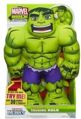 Hasbro Playskool Heroes Marvel Hulk Adventures Electronic Talking