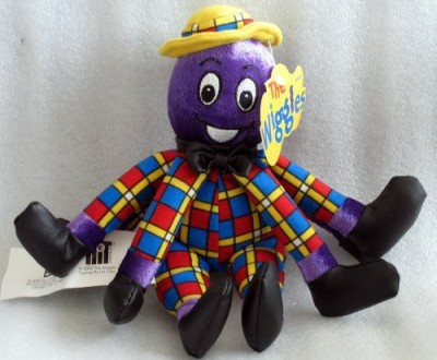 not sure of the brand name Wiggles Henry The Octopus Bean Bag Doll