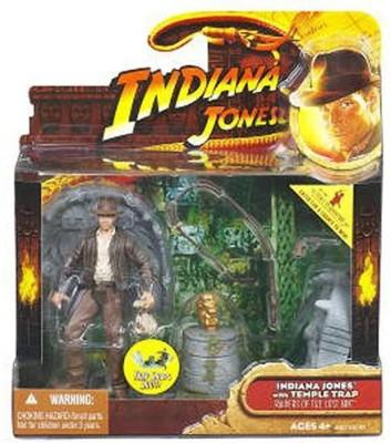Indiana Jones Deluxe: Wave 1 Indiana Jones With Idol Floor Trap