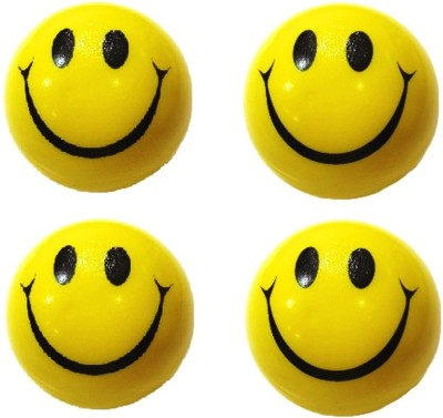 VRV Smiley Face Squeeze Ball - Set Of 4