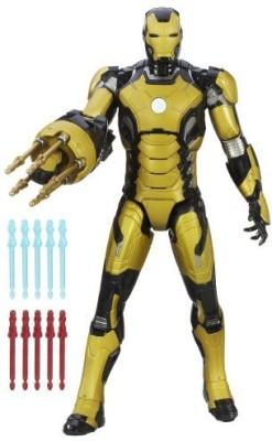 Marvel Iron Man 3 Sonic Blasting 12Inch With Glow In The Dark Armor