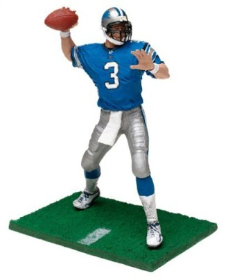 McFarlane's Sportspicks NFL Series 6 Figure: Joey Harrington #3 in Detroit Lions Jersey (Blue) by McFarlane's Sportspicks