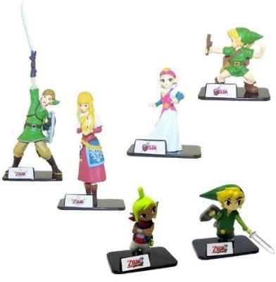Legend of Zelda Skyward Sword Exclusive Set Of 6