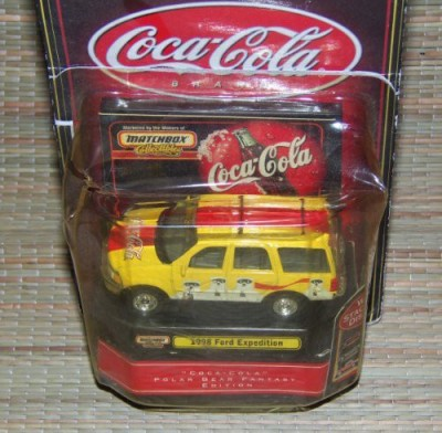 Matchbox Collectibles Cocacola 1998 Ford Expedition 164 Scale