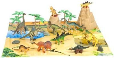 World Animals dinosaur container set 23 piece