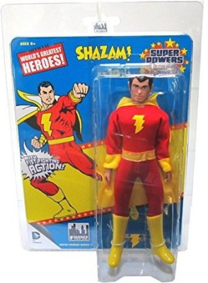 Figures Toy Company Super Powers Retro 8 Inch Series 1Shazam