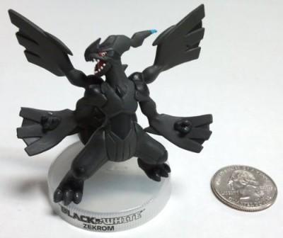 Pokemon Zekrom Black & White 3 Inch Mini Pvc Rare Legendary