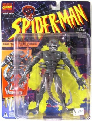 Spiderman Alien Spider Slayer Twin Torso Spider Pincers & Snarling
