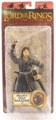 The Lord Of The Rings Lotrtrilogythe Two Towers Series 1 Helm,S Deep Aragorn