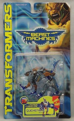 Beast Machines Transformers Quickstrike Wolf(Multicolor)