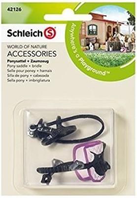 Schleich Pony Saddle + Bridle
