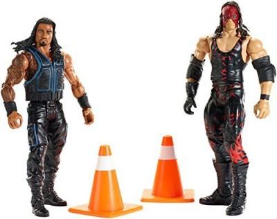 Mattel Wwe Battle Pack Series 35 Roman Reigns Vs Kane (2Pack)