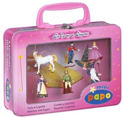 Papo Mini Tales And Legends Set In Tin Case