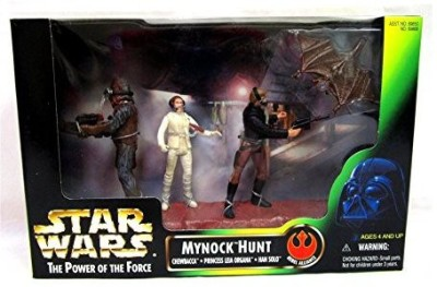 Kenner Star Wars 1998 Power Of The Force Mynock Hunt Set Rebel