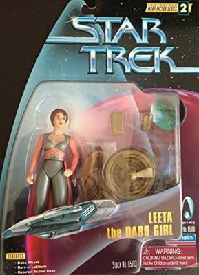 Star Trek Leeta The Dabo Girl Doll Deep Space Nine Warp Factor