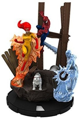 Spiderman And His Amazing Friends Heroclix Team Pack Team Base