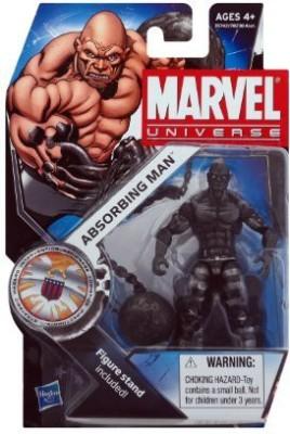 Hasbro Marvel Universe 3 3/4 Inch Series 16 Action Figure #24 Absorbing Man Dark Metallic Version