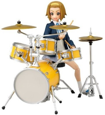 Figures K-ON! Ritsu Tainaka School Uniform Ver. with Drumset figma Action