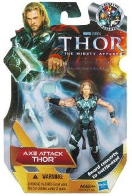 Hasbro Thor The Mighty Avenger 17 Ax Thor 375 Inch