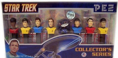 Pez Candy Star Trek Limited Edition, Numbered Collectors Set, 3.48-Ounce Box