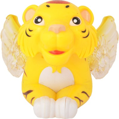 Zest4toyZ Funny Tiger With Music And Flash Light
