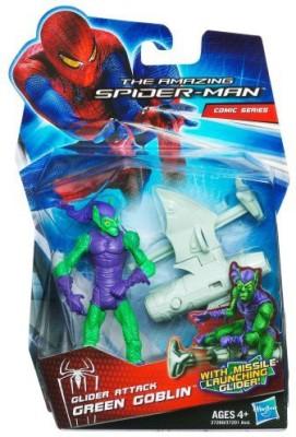 Hasbro Amazing Spiderman Movie 375 Inch Glider Attack Green