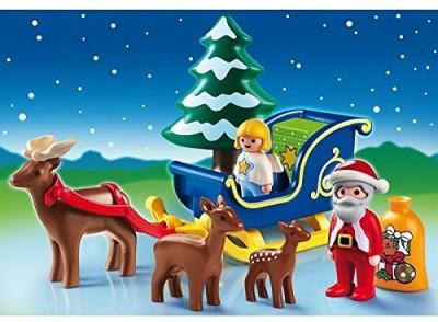 Playmobila Santa Claus with Reindeer Sleigh