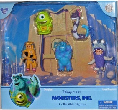 Disney Monsters Inc. Figurine Figure Set