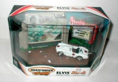Matchbox Collectibles Elvis Drive In 1965 Shel Cobra