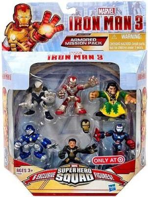 SportsMarket Super Hero Squadiron Man 3 Exclusive Set(Iron Man Mark